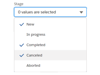 multi select combo box lwc