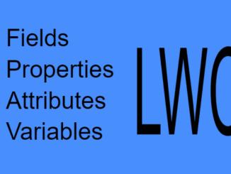 terminology in lwc