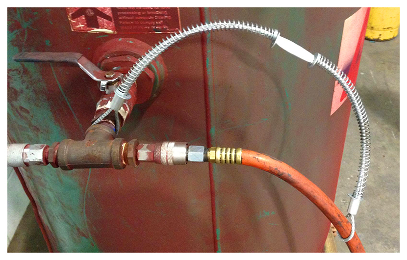 American Iron Works-Cable Hose Restrainst