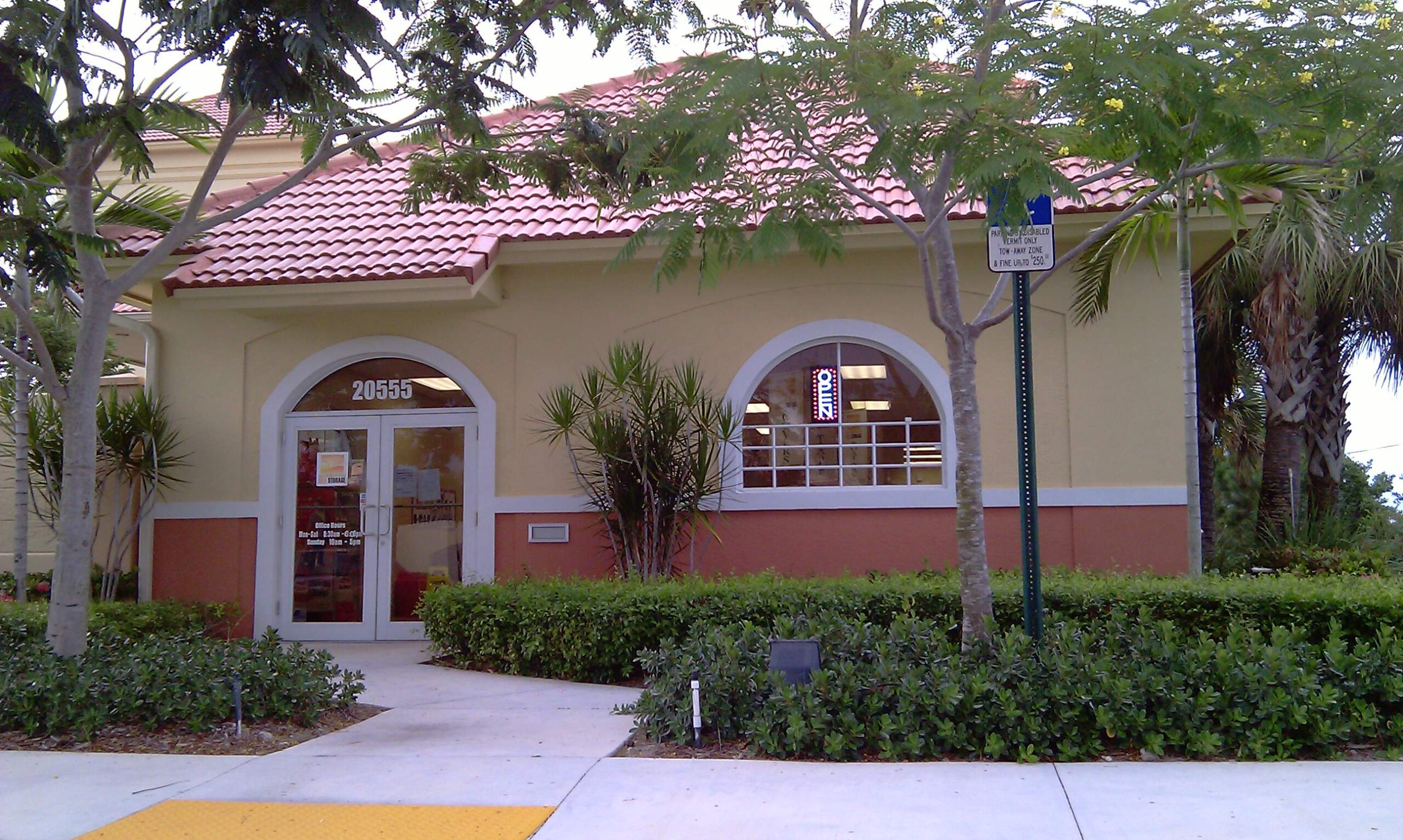 Boca Self Storage Entrance