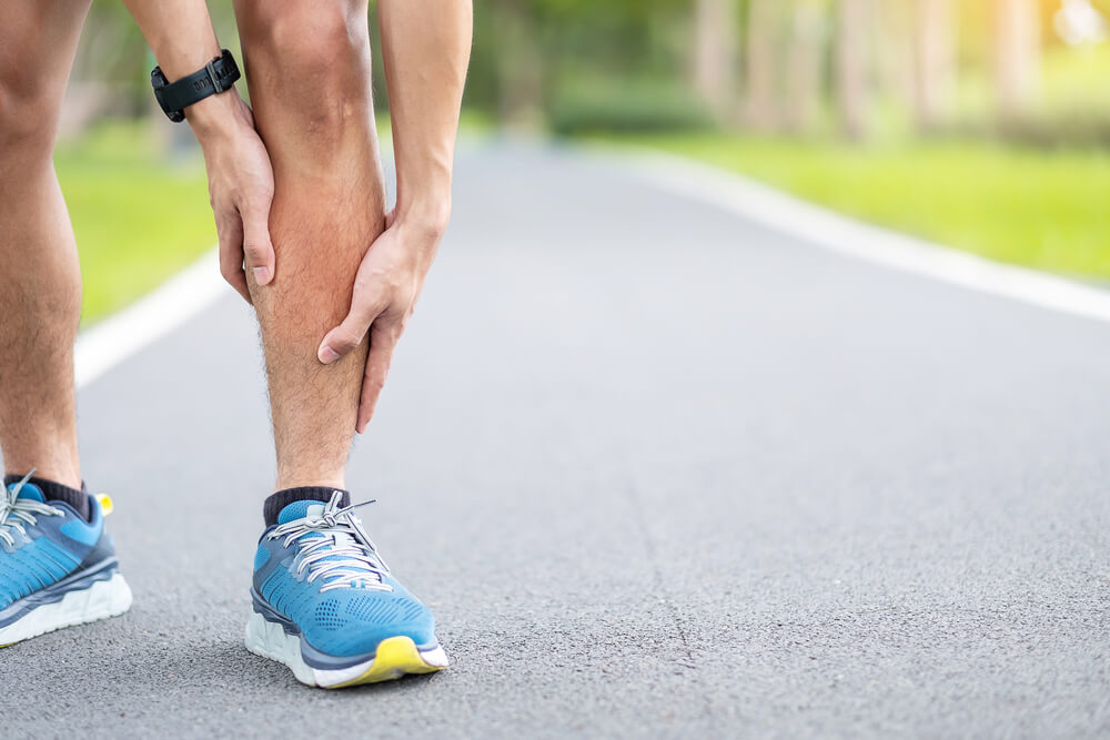 Pain in Lower Leg Above Ankle When Running