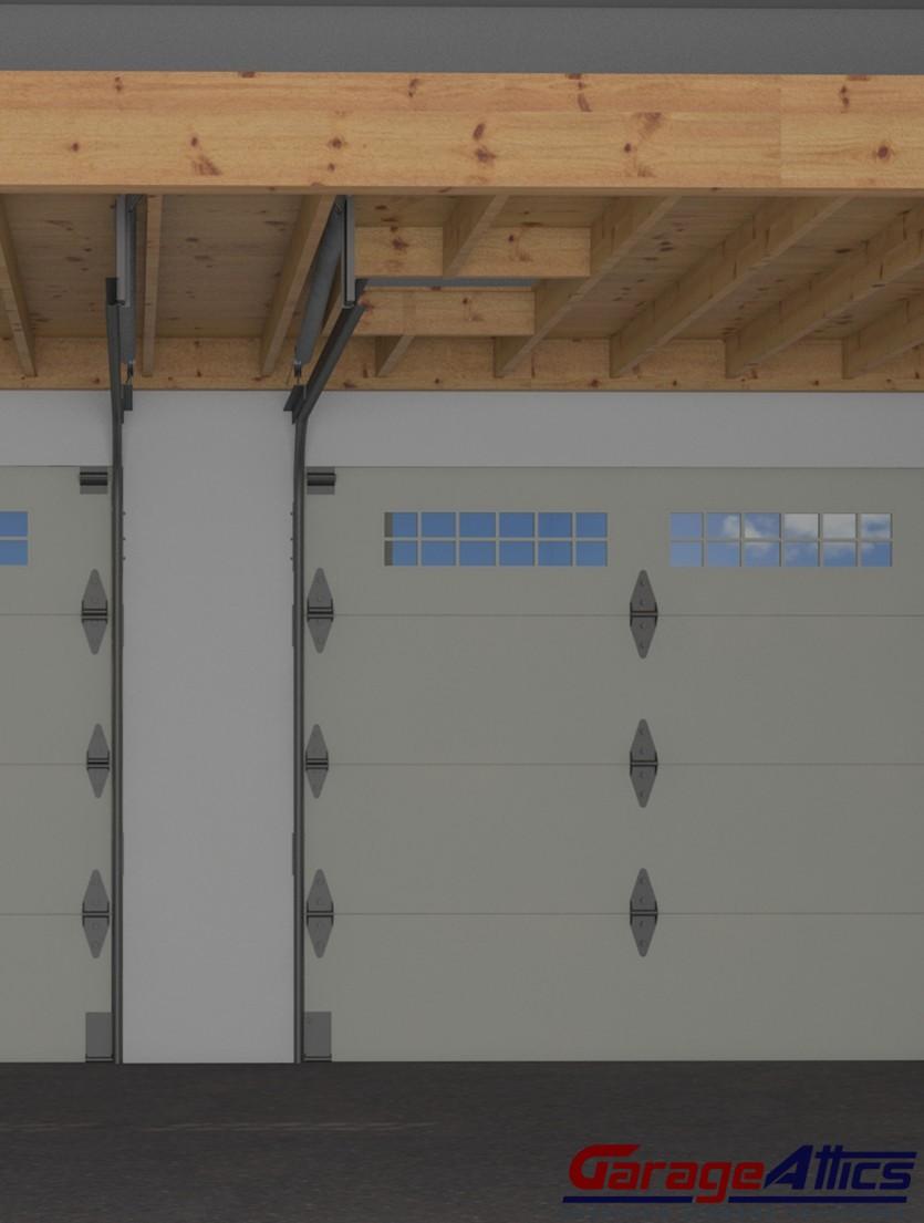 overhead garage storage system