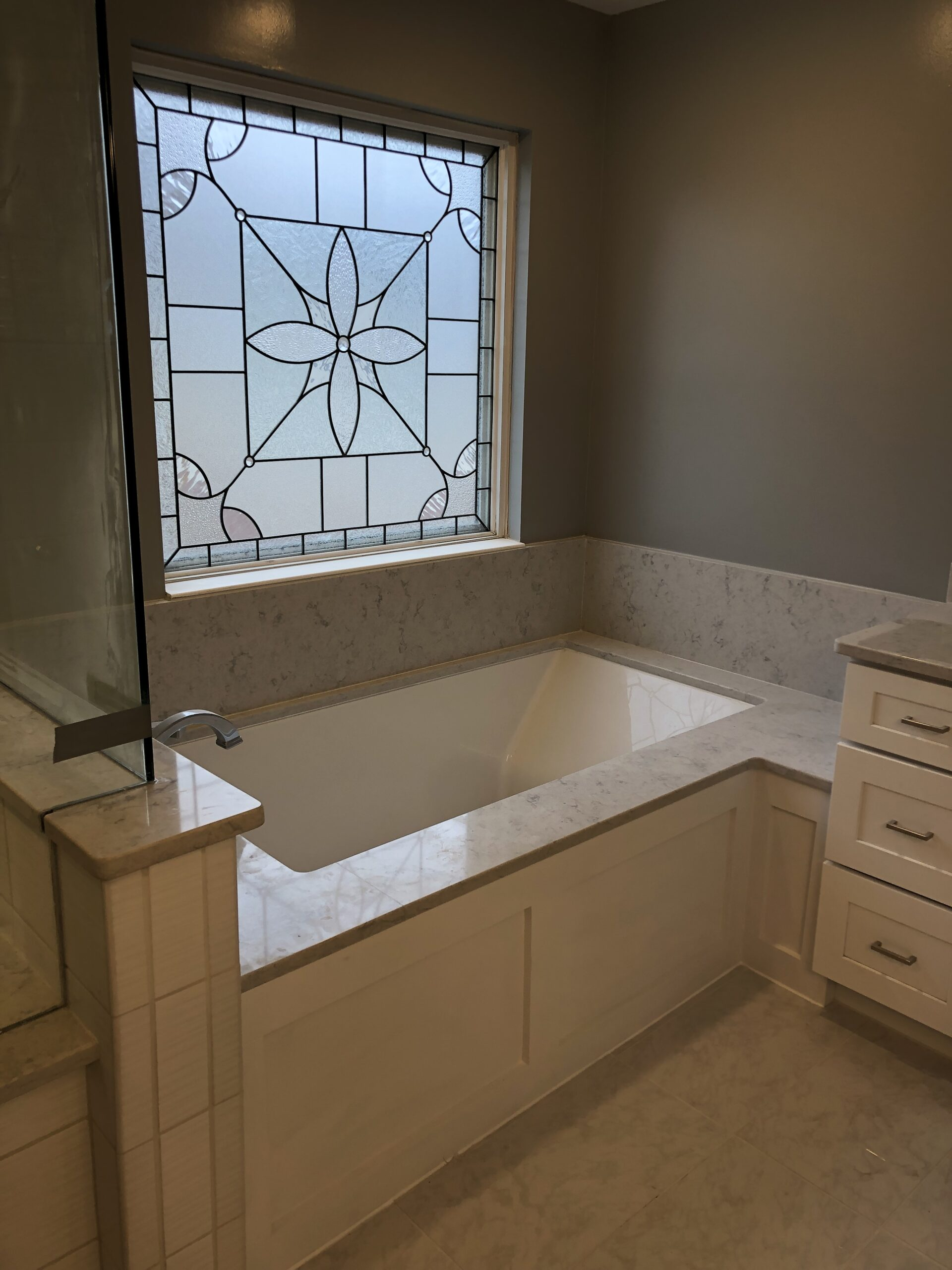 View bathroom renovation details page