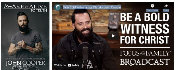 Book News: JOHN COOPER'S BEST-SELLING BOOK, AWAKE & ALIVE TO TRUTH NOW AVAILABLE ON AUDIBLE