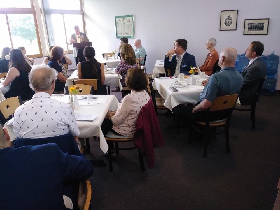 photo of breakfast meeting