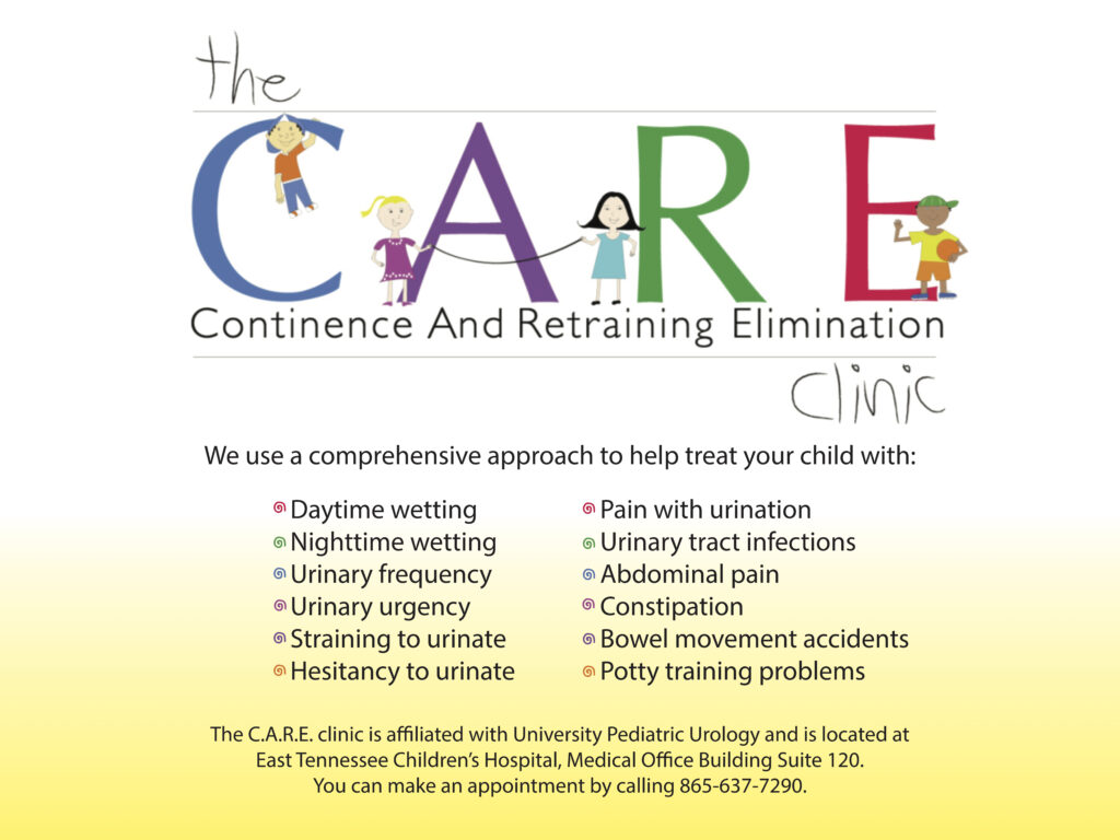 Care Clinic informational sign