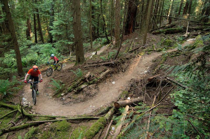 An uphill-friendly trail