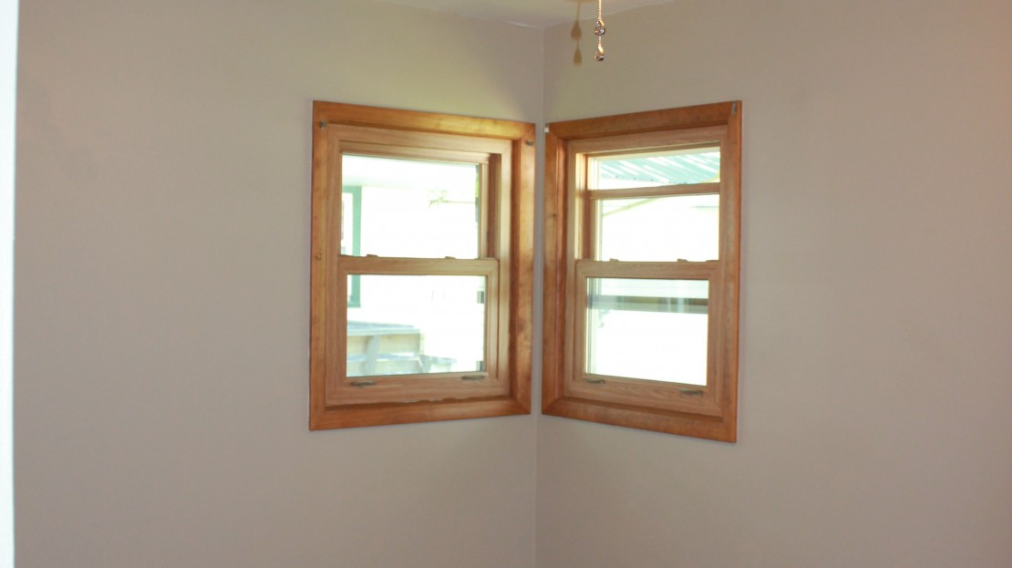 New Windows on a rental home in Independence Iowa
