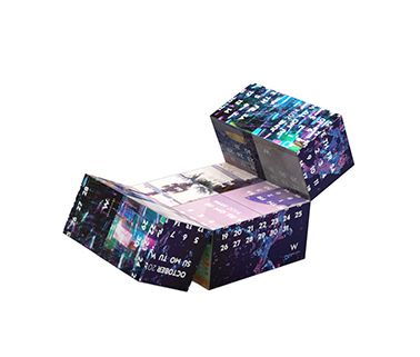 7CM Advertising Folding Magic Cube
