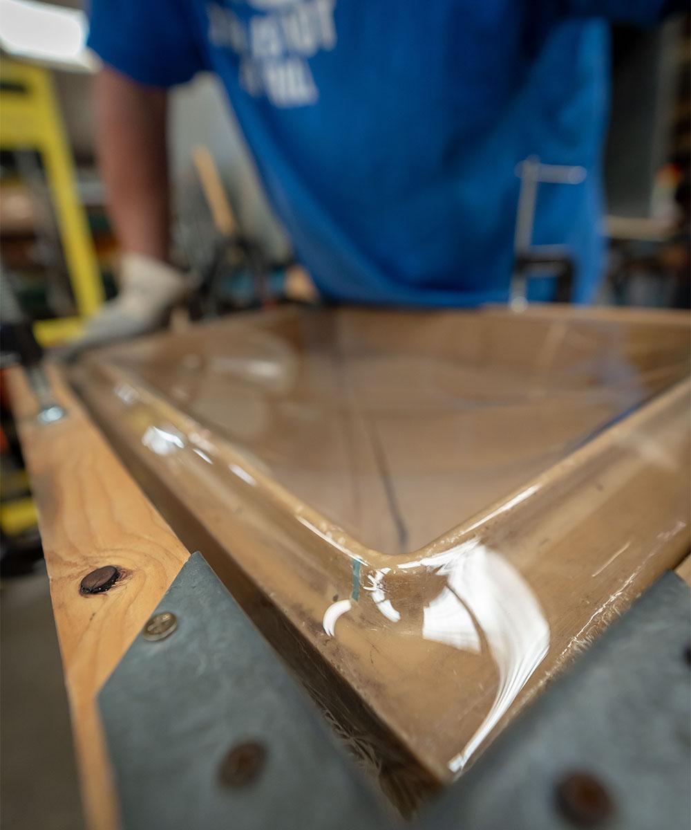vacuum forming plexiglass