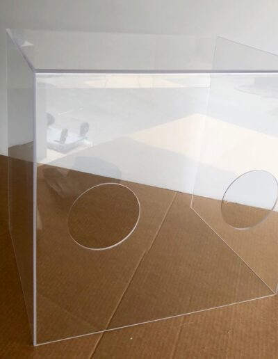 plexiglass barrier