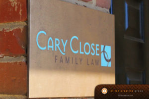 Cary Close Law firm logo branding Raleigh NC