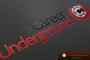 Career Underground branding and logo design raleigh nc