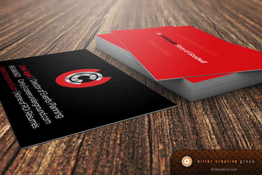 CU business card design and printing raleigh nc