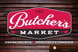 Butcher's Market Logo Design Raleigh NC