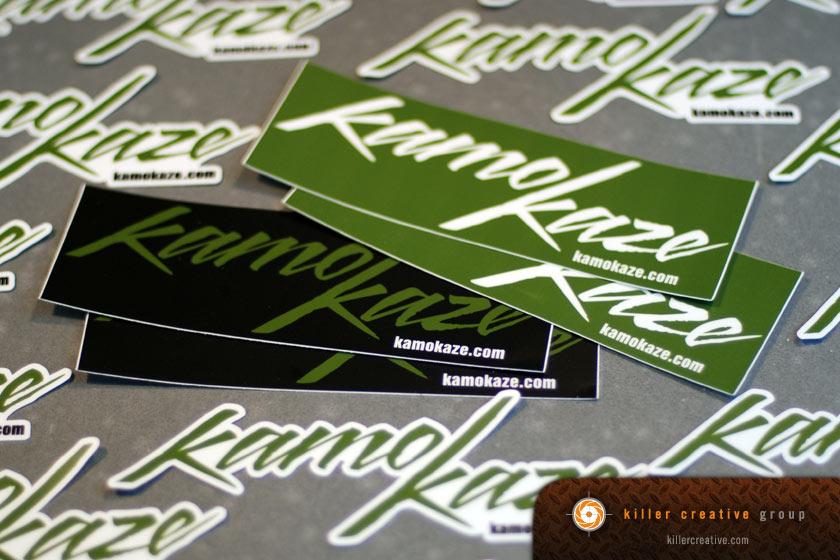 custom stickers raleigh nc