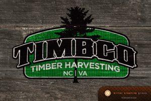 Timbco corporate identity branding logo design raleigh nc