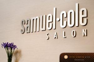 Samuel Cole Salon : salon logo design raleigh nc