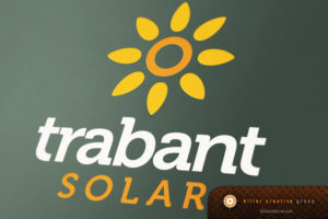 Trabant Solar logo design North Carolina