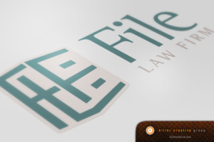 File Law Firm Branding & Logo Design Raleigh