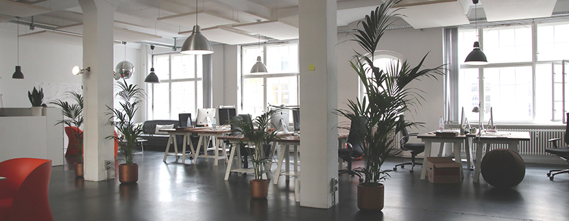 an open office space for lease