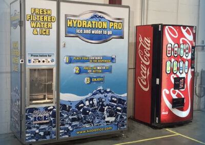HP Plus and soda machine