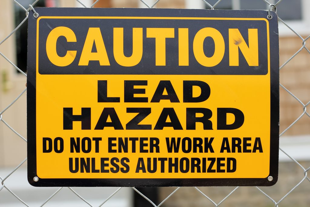 Lead Hazard Sign