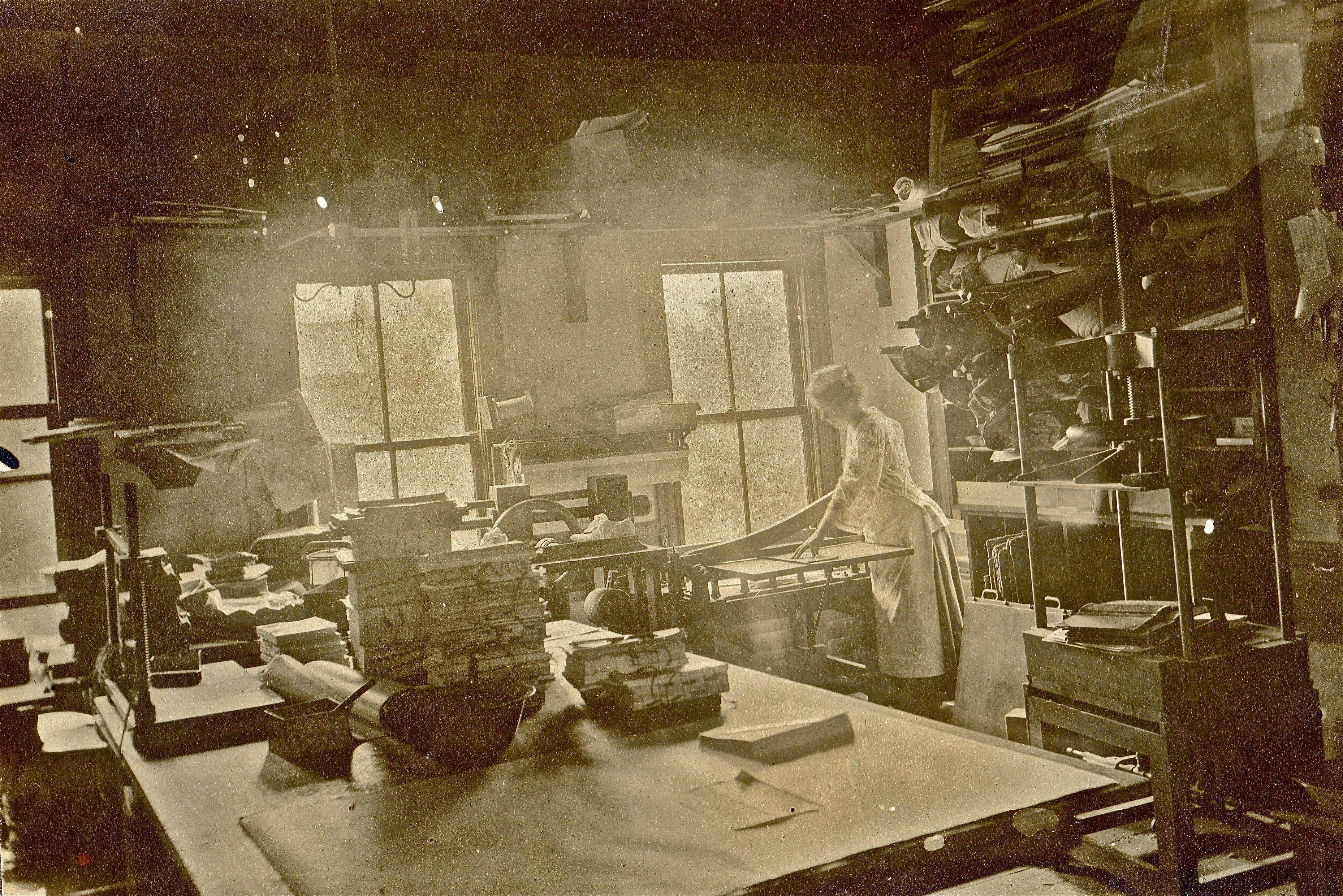 Early 1900s - Holzer Bindery