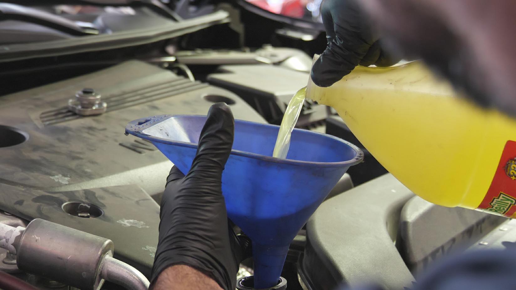 BMW Cooling System Flush