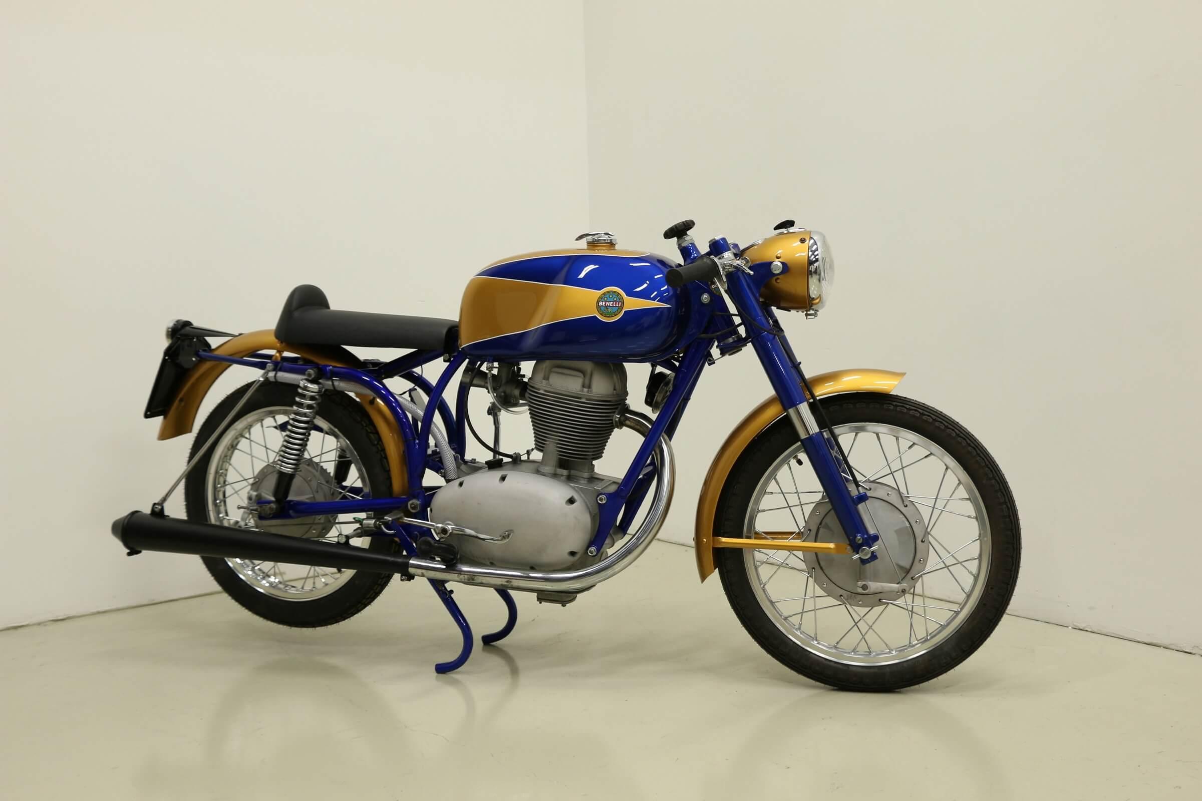 Benelli Vintage Motorcycle Paint Restoration Services Plano Dallas Richardson Allen McKiney Texas
