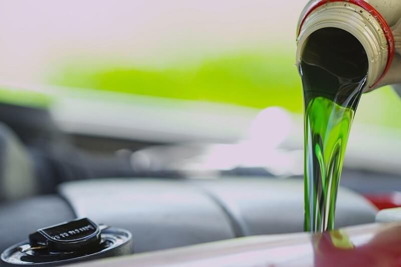 Coolant Fluid Flush Auto Repair Service in Plano Texas