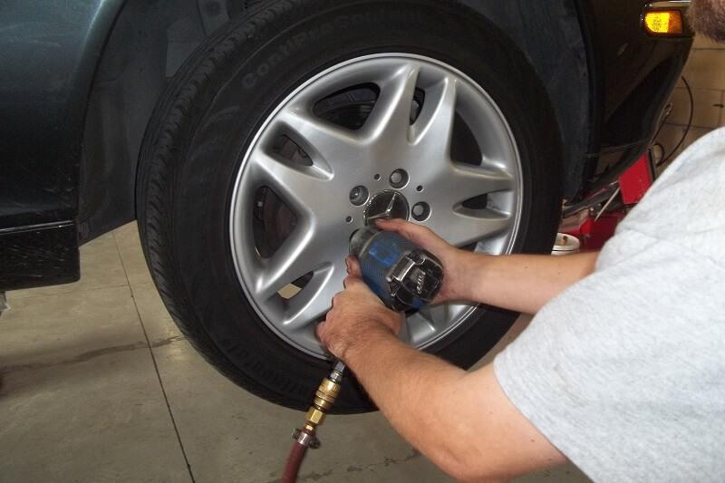 Mercedes-Benz Tire Rotations Plano Richardson Allen McKinney Texas
