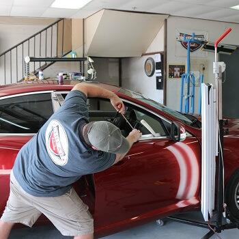 Paintless Dent Repair For Automotive Hail Damage in Plano Richardson Allen McKinney Parker Murphy Lucas Frisco Texas