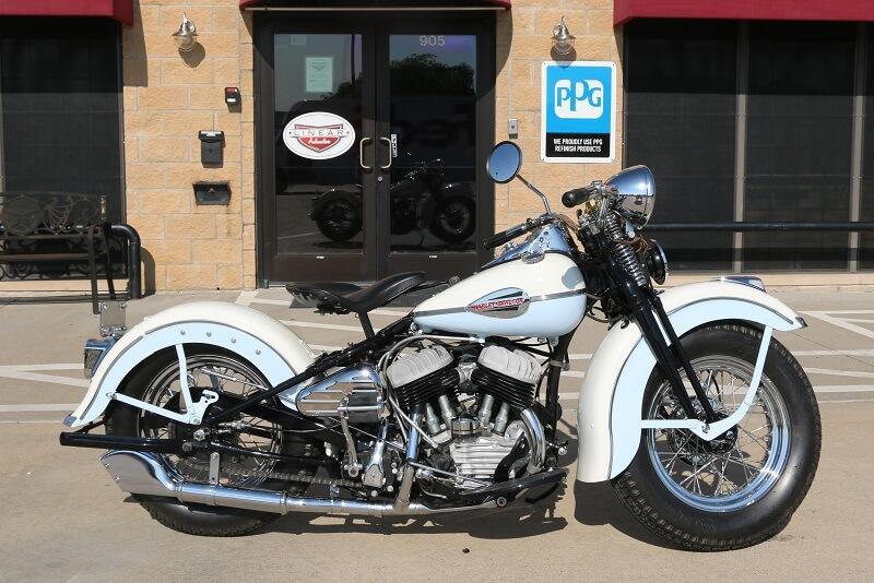 Vintage Harley Davidson Custom Paint Restoration Service Dallas Plano Richardson Allen McKinney Texas