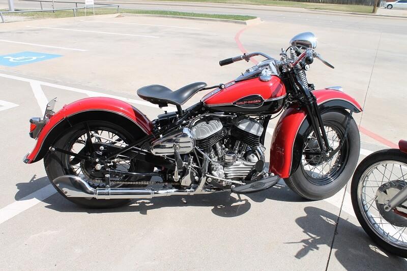 Vintage Harley Painting