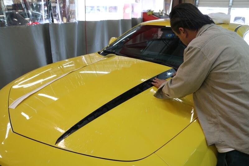 best auto body shop Vinyl Decal Installation Service in plano dallas richardson allen mckinney frisco the colony texas