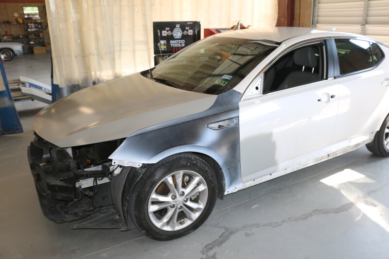 body shop fender repair in plano richardson dallas mckinney allen frisco texas