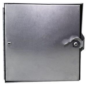 square framed access door