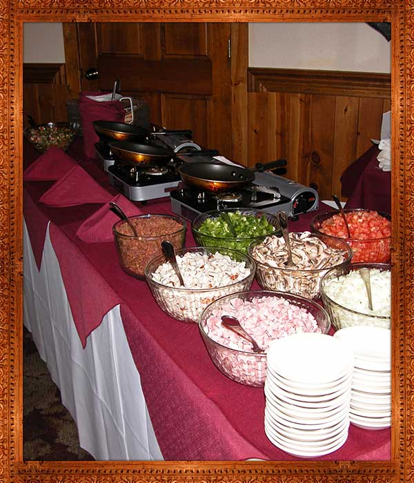 parties-buffet-choices