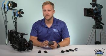 Cinegears Wireless Follow Focus Infinite Focus Lens Setup by IPG Rentals