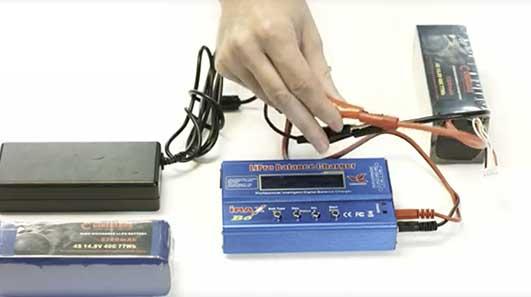 Cinegears RC Car Battery Instruction