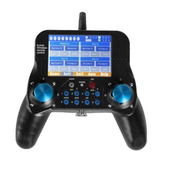 8_Axis_Wireless_Cablecam_Remote_Controller_turnon