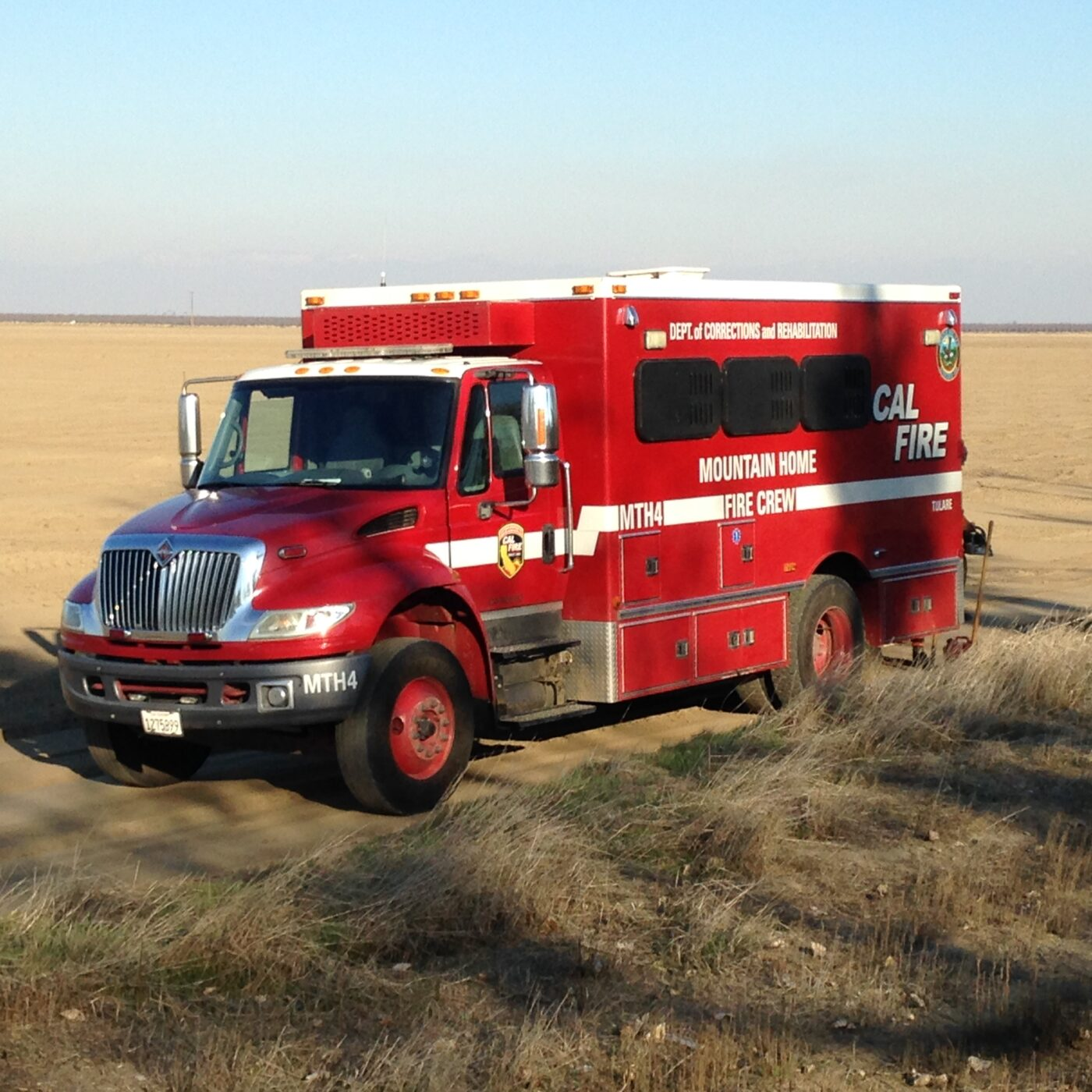 CalFire bus