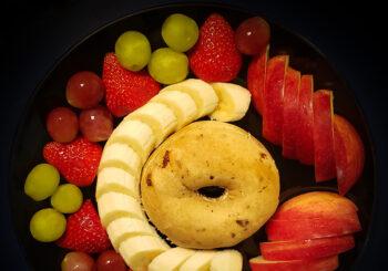 Fruits, Snacks & Drinks