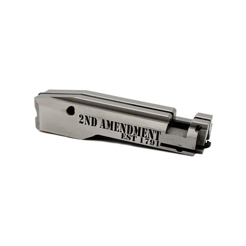 jwh custom ruger 10/22 bolt 2nd amendment 1791 front view
