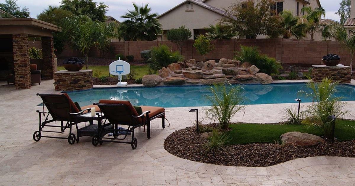 Unique Landscape Design for Poolscapes