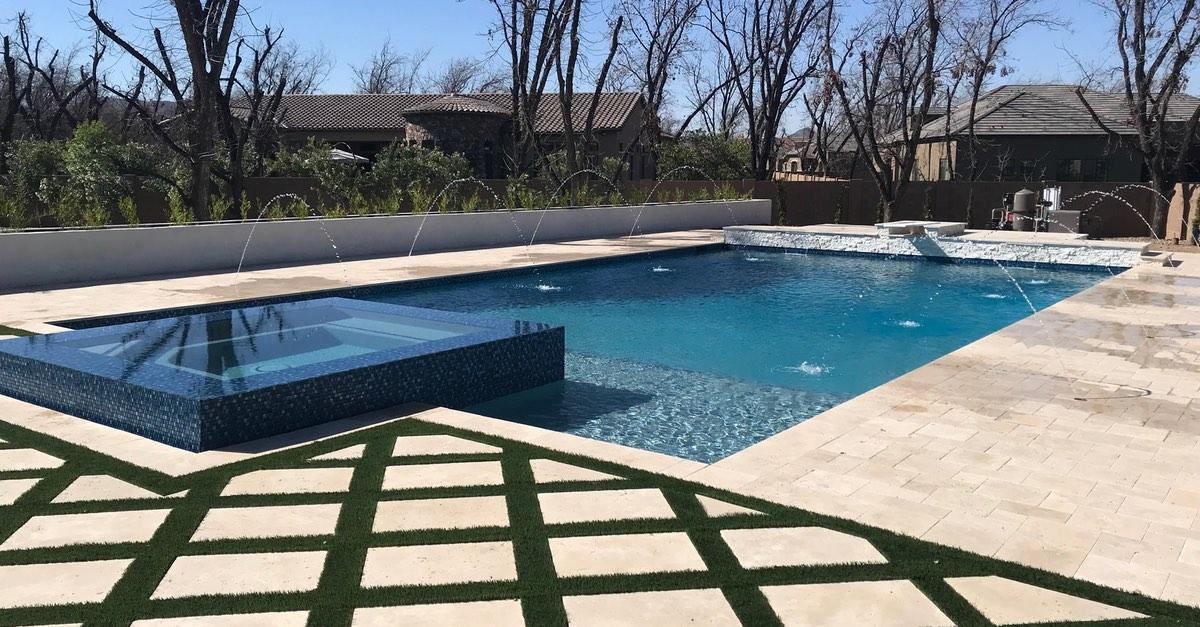 Rectangular Pool Designs With Pizazz