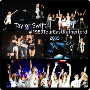 Taylor Swift #1989TourEastRutherford Collage #TheGracieNote