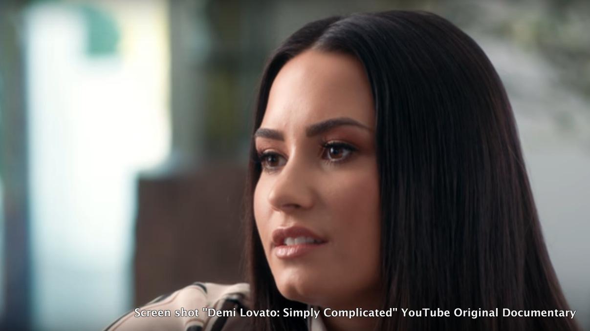 "Screen shot ""Demi Lovato: Simply Complicated"" YouTube Original Documentary"