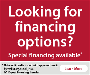 Financing options learn more